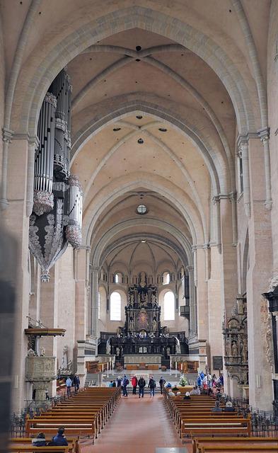 Trier, Dom, Bishop Church, Vault, Old, Old Town