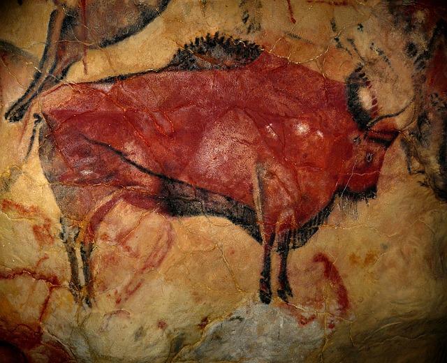 Bison, Cave Of Altamira, Prehistoric Art