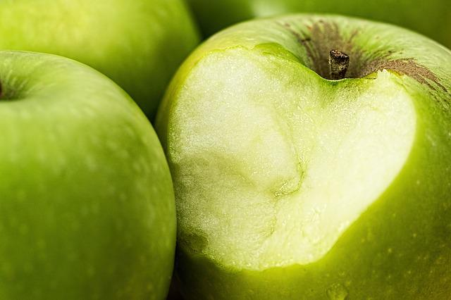 Apple, Green, Bite, Healthy, Green Apple, Fruit, Juicy