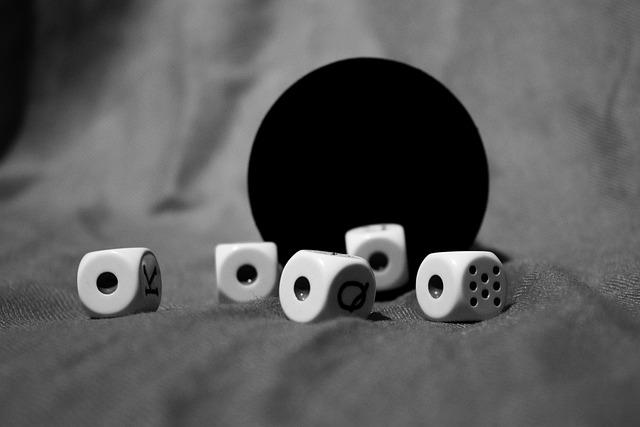 Dice, Game, Aces, Goblet, Dice Game, Random, Black