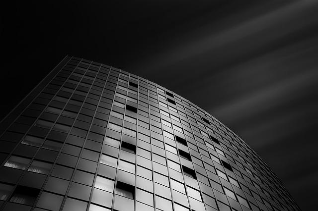 Long Exposure, Black And White, Hotel, Ulm, Maritime