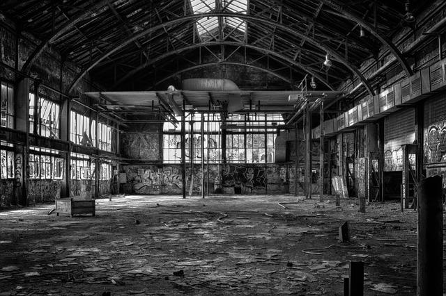 Lost Places, Black And White, Pforphoto, Mystical