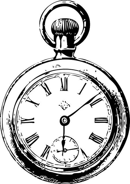 Clocks, Watch, Black And White, Old, Ancient, Antique