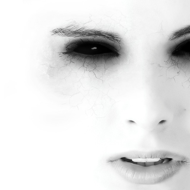 Portrait, Human, Black And White Photography, Face