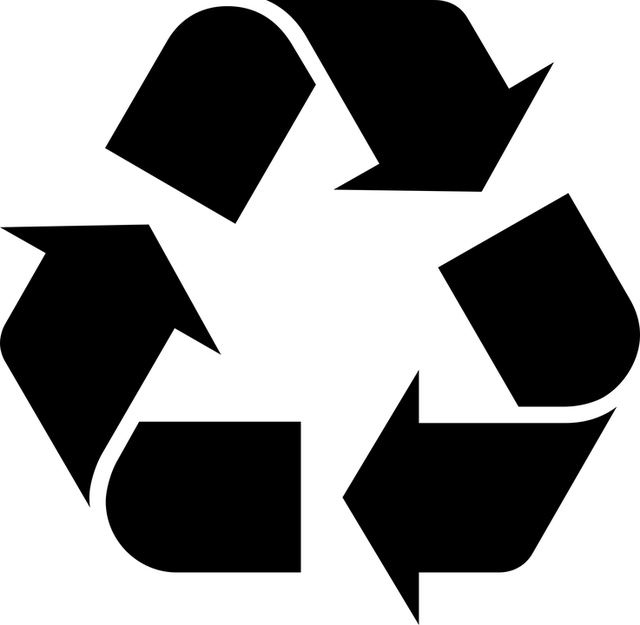 Black And White, Environment, Recycle, Recycle Symbol