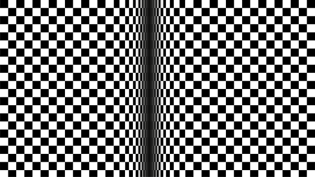 Art-optical, Black, White, Contrast, Black White