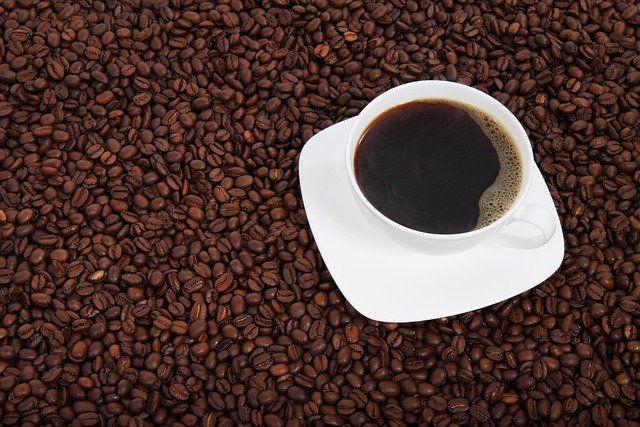 Coffee Beans, Coffee, Background, Beverage, Black