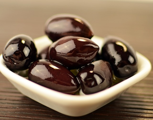 Olives, Black, Food, Ingredient, Cuisine, Fresh