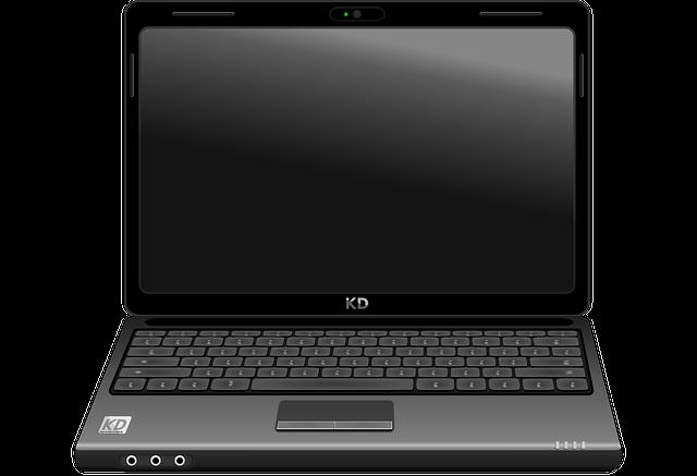 Laptop, Notebook, Computer, Black, Electronics