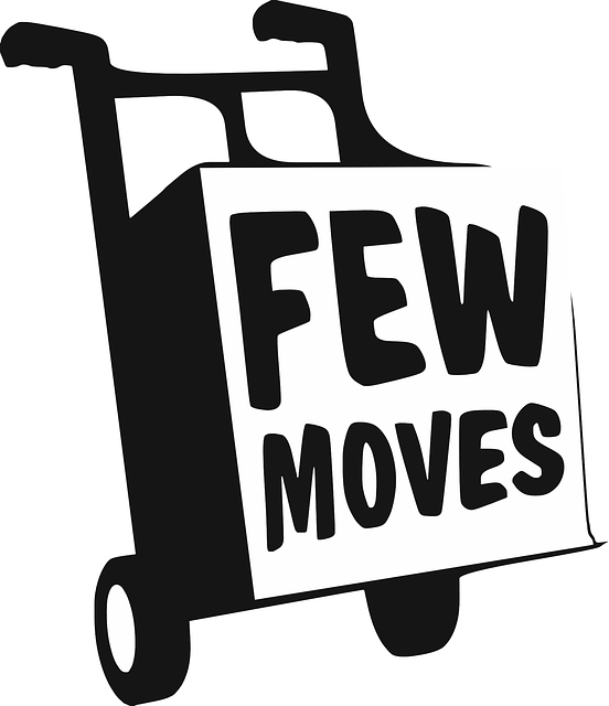 Logo, Few, Moves, Handcart, Pushcart, Hand Truck, Black