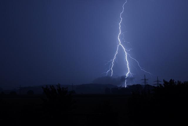Flash, Thunderstorm, Flash Of Lightning, Black
