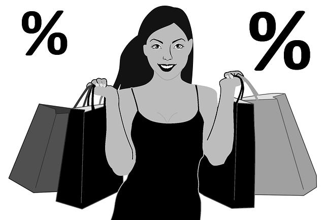 Black Friday, Sales, Discount, Woman, Bag, Bargain
