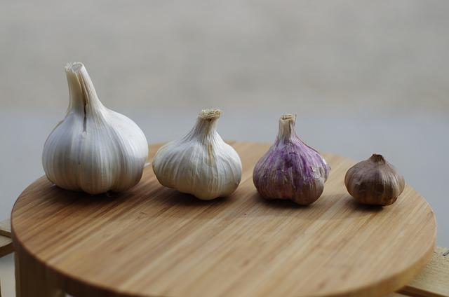 Garlic, Garlic Elephant, Purple Garlic, Black Garlic