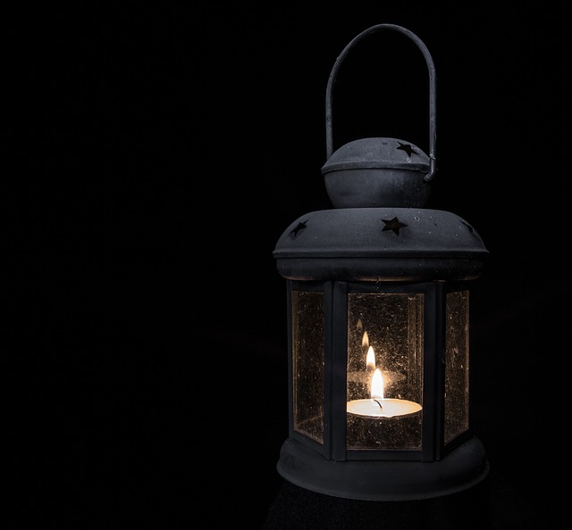 Lamp, Light, Tea Light, Lantern, Antique, Black Light