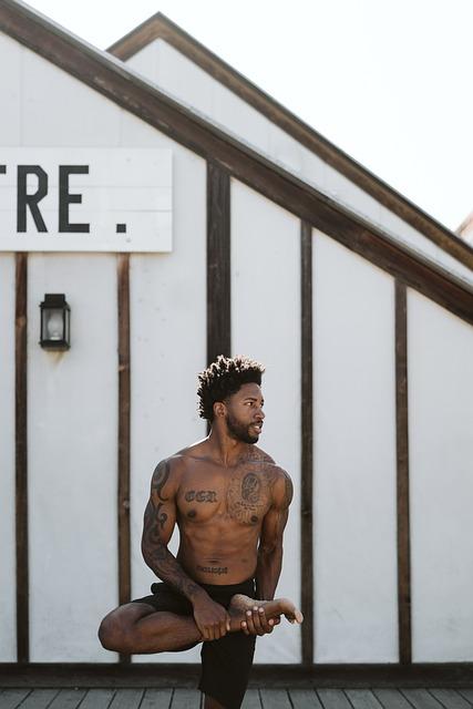 Yoga Day, Yoga, Black Man, Black Lives