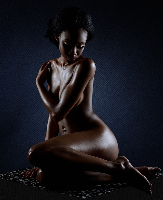 Nude, Woman, Sexy, Black People, Pose, Erotic, Skin