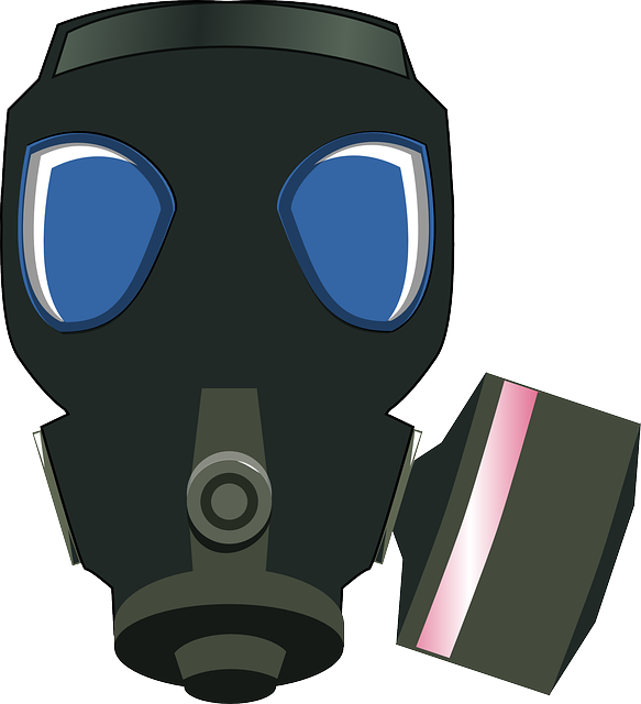 Gas Mask, Black, Protection, Safe, Breathe
