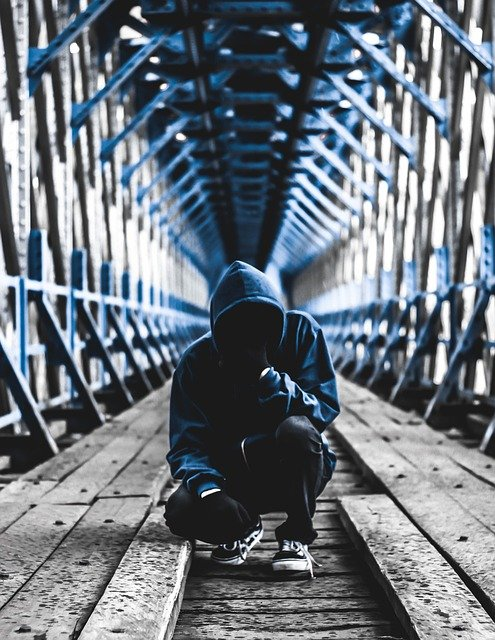 Urban, Anonymous, Black, Hoodie, Invisible, Scary