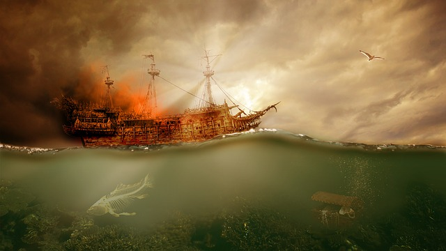 Black, Pearl, Caribbean, Curse, Ship
