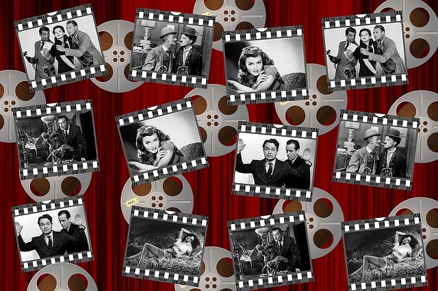 Movies, Black And White, Stars, White, Black, Film