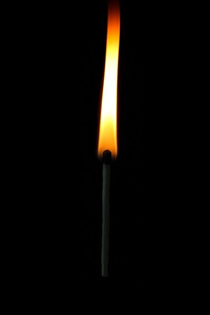 Match Matches Sticks Lighter Wood Sulfur Black