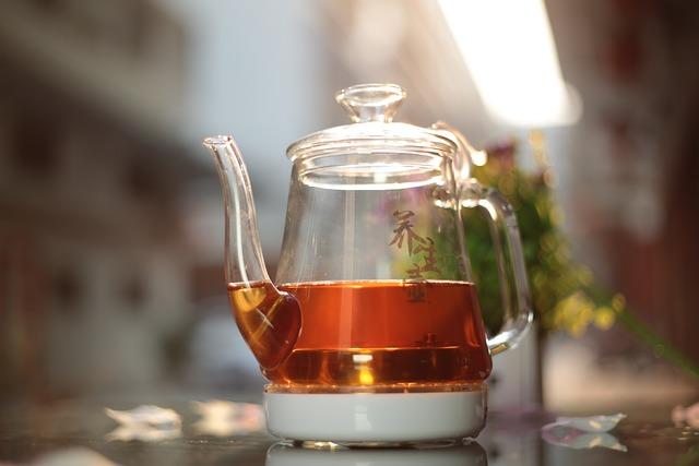 Tea, Black Tea, Glass Jug