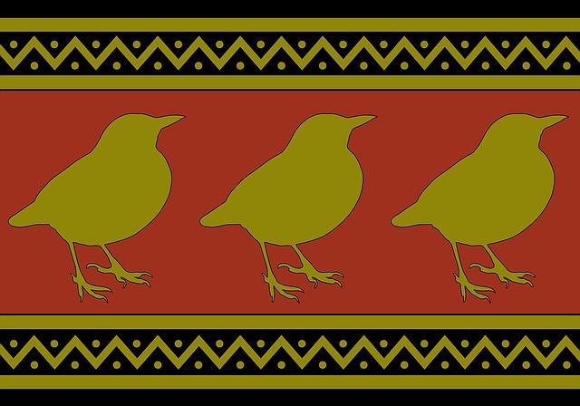 Birds, Blackbirds, Wallpaper, Paper, Background