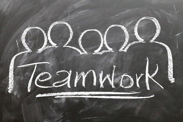 Teamwork, Team, Blackboard Blackboard, Chalk, Personal