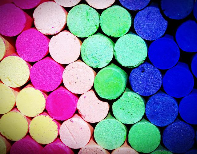 Background, Blackboard, Blue, Board, Chalk, Color