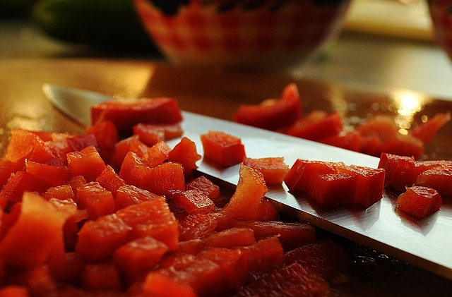 Knife, Blade, Watermelon, Melon, Fruit, Red, Fresh, Cut