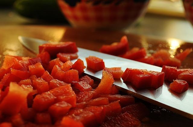 Knife, Blade, Watermelon, Melon, Fruit, Red, Fresh, Cut