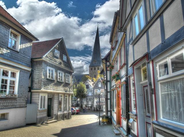 Altstadt Hattingen, Ruhr, Ruhr Trail, Blankenstein