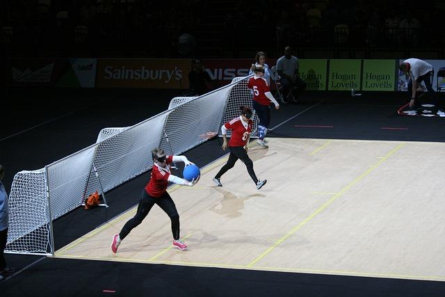 Goalball, Paralympics, Blind, Sport