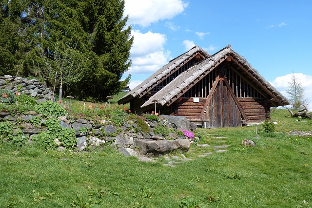 Celts Village, Block House, Vacation, Alm, Hut, Austria
