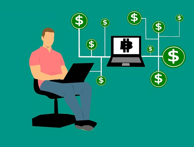 Blockchain, Money, Chain, Block, Distribution, Symbol