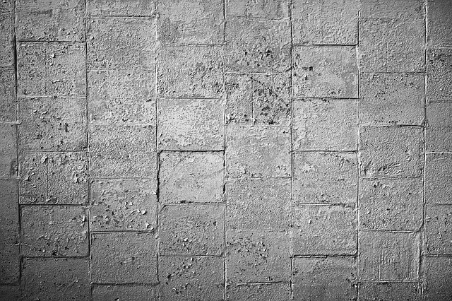 Stone Wall, Blocks, Concrete, Masonry, Squares