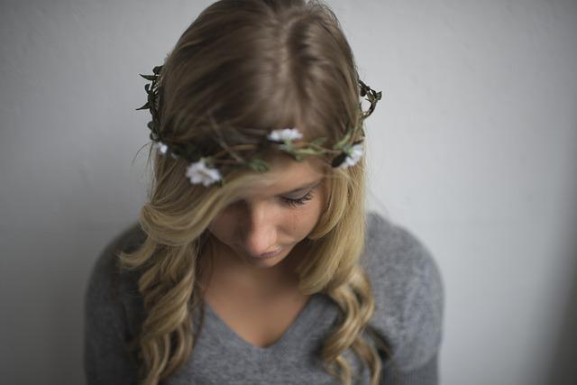 Blond, Blonde, Cute, Fashion, Flower Crown, Flowers