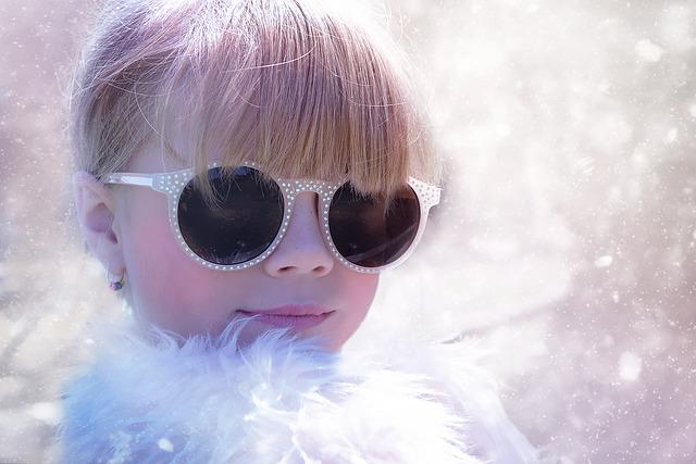 Person, Human, Child, Girl, Blond, Glasses, Face
