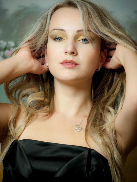 Portrait, Blond, Blondie, Brunette, Woman, Girl, Nature