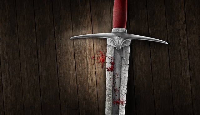 Sword, Blood, Background, Medieval, Image Manipulation