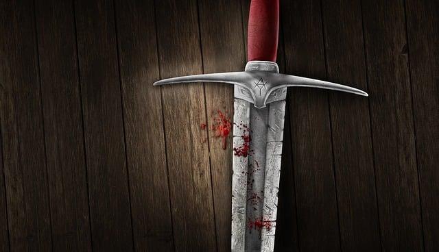 Sword, Blood, Background, Medieval, Image Manipulation
