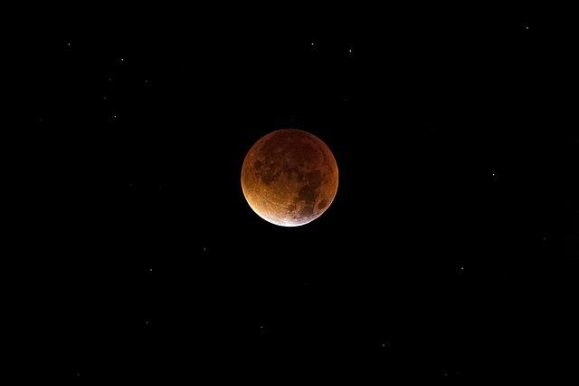 Astronomy, Moon, Cosmos, Lunar, Space, Blood Moon