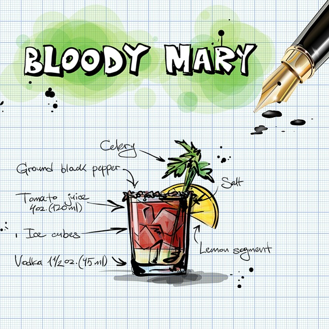 Bloody Mary, Cocktail, Drink, Alcohol, Recipe, Party