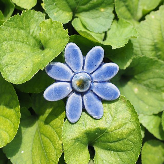 Garden Decoration, Ceramic, Flower, Blossom, Bloom