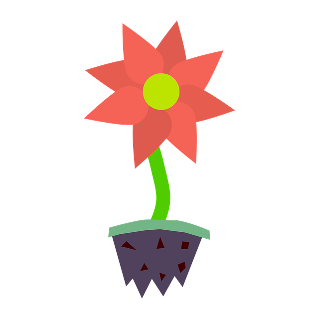 Flower, Plant, Blossom, Bloom, Earth, Pot, Uprooted