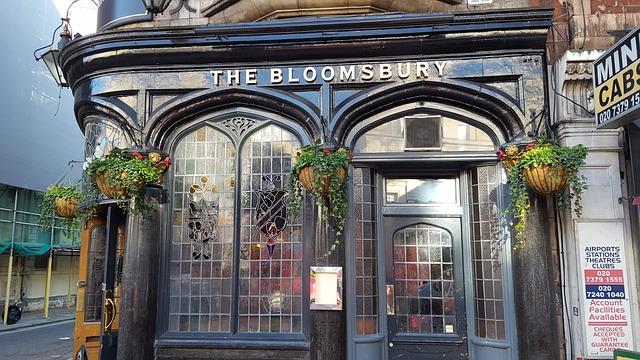 Bloomsbury Pub, London, London Street, London Pub
