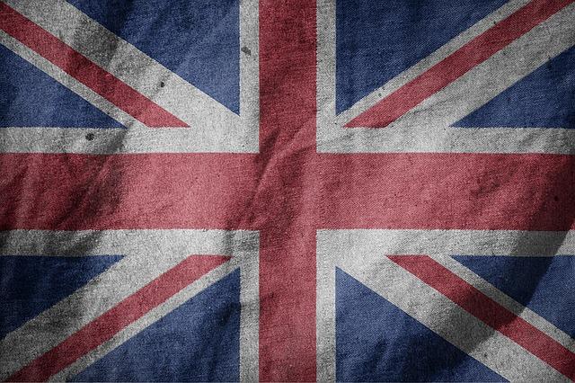 Flag, England, Großbritanien, Europe, Blow, Country