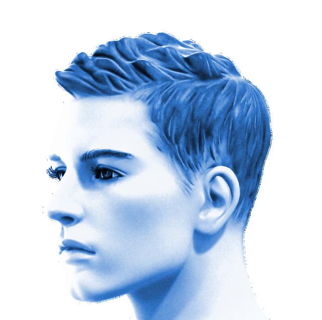 Man, Portrait, Human, Face, Head, Male, Blue, Avatar