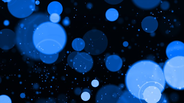Blue, Bokeh, Circles, Abstract, Background