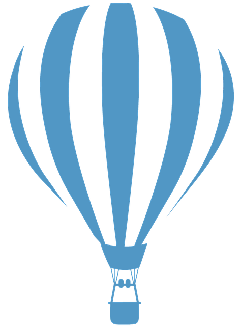 Hot Air Balloon, Balloon, Blue, Balloon Flight
